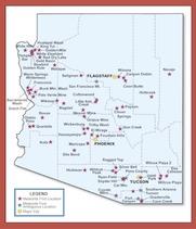 Rockhounding California Map.Rockhounding Arizona Gator Girl Rocks