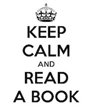 Keep Calm read Book