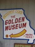 Museum - golden-pioneer-museum sign