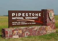 Site - Pipestone National Monument Sign