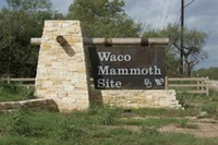 Site - Waco Mammoth Site Sign